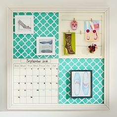 Bulletin Boards, Fabric Bulletin Boards & Style Tile Systems | PBteen