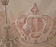 queen of pink!  - bling out a metal decorative crown. Metal crowns at www.crownchic.com