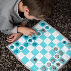 Quilted Kid's Chess Set