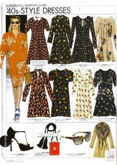 '40s style dresses