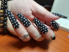 blinged out nails - Google Search Crazy Nails, Blackberry, Bling, Fruit, Google Search, Beauty, Jewel, Blackberries, Beauty Illustration