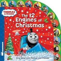 Lets-you-join-Thomas-the-Tank-Engine-and-his-friends-for-a-Christmas-singalong-This-book-allows-children-to-count-the-Christmas-items-and-sing-the-festive-lyrics-based-on-the-much-loved-12-Days-of-Christmas-song-It-is-suitable-for-children-aged-2-and-up