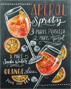 aperolaspritz recipe drawing Informations About Lily & Val - Aperol Spritz Rezept (Englisch) Pin You Aperol Spritz Receita, Cocktail Drinks, Alcoholic Drinks, Party Drinks, Holiday Drinks, Holiday Parties, Whiskey Drinks, Spritz Recipe, Recipe Drawing