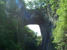 Natural Bridge in Virginia
