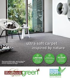 Redbook Green from Feltex Carpets