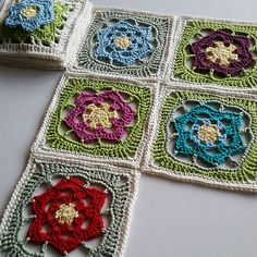 Ravelry: spincushions' Flowers Abound CAL
