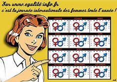sur Egalité-infos.fr, c'est la journée internationale des femmes toute l'année!  #go women!
