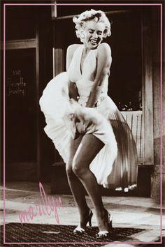 and aa Marilyn Monroe