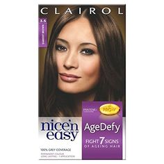 Nice n Easy Age Defy Hair Dye Darkest Brown 35 >>> You can find more details by visiting the image link.