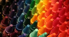 Remember the smell and feel and look of a brand-new box of crayons?