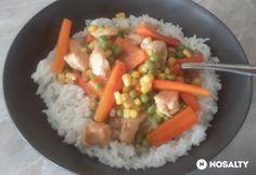 Édes-savanyú zöldséges kínai   NOSALTY Guacamole, Salsa, Ethnic Recipes, Food, Essen, Salsa Music, Meals, Yemek, Eten