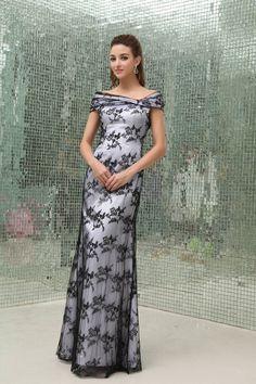 Μητέρα της νύφης φόρεμα Υψηλή καλύπτονται Επίσημη Προσαρμοσμένες μανίκια