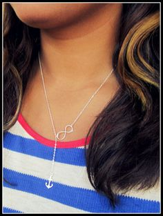 Tied to the sea Achor and Infinity Lariat in by Keepitclose, $24.95 #navy wives