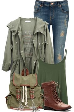 How To Wear Skinny Jeans And A Parka Jacket