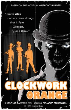 Another one of my absolute favorites. Kubrick is a genius, and Malcolm McDowell gave a phenomenal performance! Not to mention he was sexy as hell as a young man ;P