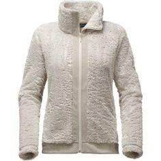 The North Face Women's Furry Fleece Jacket, Size: Medium, Rainy Day Ivory