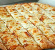 Cheesy Garlic Bread Sticks, just like the restaurants make!