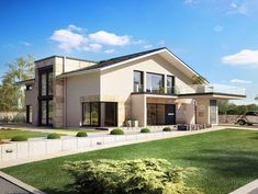 Virtuelle Besichtigung Unser Münchner Musterhaus CONCEPT-M 163 ist die konsequente Weiterentwicklung unserer Idee, ein Haus zu kreieren, das bei der Realisierung individueller Wohnwünsche neue Maßstäbe setzt. Ein Haus, bei dem die Architektur in perfektem Einklang mit der Funktionalität des Grundrisses steht und dadurch ein neues Wohngefühl entstehen lässt. Der elegante Baukörper wirkt mit seiner Kombination aus bodentiefen Fensterelementen im Erd- und Obergeschoss und zusätzlichen schlanken…