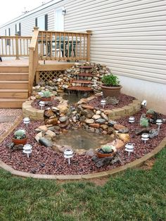 15 Pleasing and Attractive DIY Backyard Ideas to Remodel Your Backyard and Keep It 'Party Ready' Always There are whole lot of ways to adorn and deck up your backyard. Check out some of the most interesting DIY Backyard ideas right here. Garden Yard Ideas, Garden Projects, Tire Garden, Terrace Garden, Diy Garden Ideas On A Budget, Garden Bed, Diy Projects, Diy Pond, Garden Waterfall