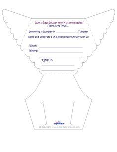 Baby Shower Diaper Invitation Pink Diaper Invitation Cards Baby - Diaper baby shower invitation template