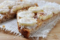 Peanut Butter Coconut Cinnamon Toast by The Colorful Kitchen