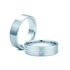SAVICKI - Obrączki ślubne: Obrączki z białego złota (Nr 214) - Biżuteria od 1976 r.
