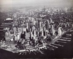 Pre Battery Park City NYC 1959