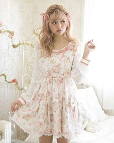 【予約】キャンディ柄ワンピース ワンピース   LIZ LISA(リズ リサ)   Tokyo Kawaii Life