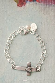 cross of faith bracelet $36 and full of meaning. LisaLeonard.com