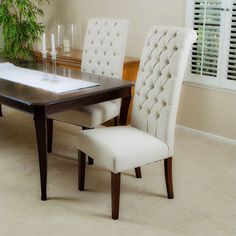 Armando Dining Chairs in Natural (Set of 2) - 658812CY
