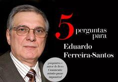 5 perguntas para o psiquiatra Eduardo Ferreira-Santos