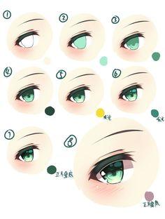 Eye painting tutorial anime 18 Ideas for 2019 Eye Drawing Tutorials, Sketches Tutorial, Digital Painting Tutorials, Digital Art Tutorial, Art Tutorials, Eye Tutorial, Digital Paintings, Cloud Tutorial, Eye Illustration