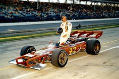 Swede Savage 1972 Indy 500, I think. That car is butt ugly.