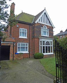 Edwardian house with fab windows