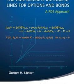 The Time-Discrete Method Of Lines For Options And Bonds: A Pde Approach PDF