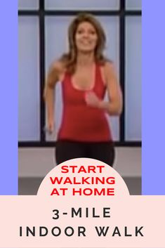 Do you love walking, but the weather& frightful? With this free fun video, you can accomplish a walk in the comfort of your own home. Start walking at home today! Yoga For Weight Loss, Weight Loss For Women, Best Weight Loss, Senior Fitness, Fitness Tips, Health Fitness, Easy Workouts, At Home Workouts, Elliptical Workouts