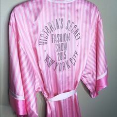 Victoria secret fashion show 2015 robe Brand new  without Tags. One size. Silk official 2015 VS fashion show robe . Bought at 165$ but there all selling out.!! Send offers!❤️ Victoria's Secret Other