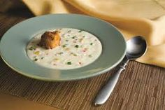 Corn and Crab Bisque - Copeland's of New Orleans Crab Bisque, Seafood Dishes, Soups And Stews, Soul Food, Cheeseburger Chowder, Soup Recipes, Entrees, Eat, San Antonio