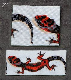 My Gecko by Ellygator on deviantART  would love this as the gecko only with clasp held in its mouth