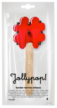 TUTU Lithuanian lollipop. Sweet and natural way! #lollipop #berry #packaging