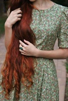 Pink-Red with Yellow Highlights - 20 Cool Styles with Bright Red Hair Color (Updated for - The Trending Hairstyle Beautiful Red Hair, Beautiful Redhead, Beautiful Things, Long Red Hair, Brown Hair, Black Hair, Ginger Hair, Hair Inspo, Pretty Hairstyles