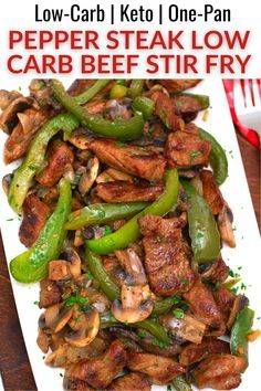 Healthy Low Carb Recipes, Low Carb Dinner Recipes, Keto Dinner, Low Carb Quick Dinner, Low Carb Soups, Low Carb Food, Easy Keto Recipes, Low Cholesterol Recipes Dinner, Stir Fry Low Carb