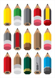 Individuality [pencils] - Exergian