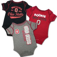 Ohio State Rookie Baby Body Suits #ohiostate #buckeyes #baby #toddler Ohio State Baby, Ohio State Logo, Ohio State Buckeyes, Body Suits, Baby & Toddler Clothing, Baby Bodysuit, Infant, Baby Boy, Sporty