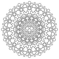 A collection of mandalas to color