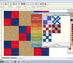 EQ7 Tutorial Tuesday- creating quilt from block