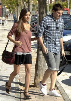 Sara Carbonero and Iker Casillas