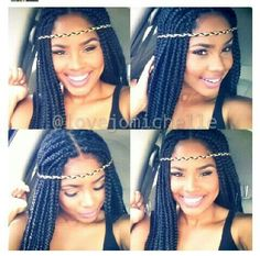 LOVEJOMICHELLE @ INSTAGRAM BRAIDS / BOX BRAIDS / PROTECTIVE HAIRSTYLE / POETIC JUSTIC BRAIDS / DOOKIE BRAIDS / SYNTHETIC HAIRSTYLE / HIPPIE HEADBAND