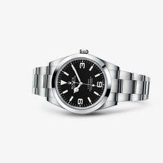 Découvrez la montre Explorer en Acier904L sur le Site Officiel Rolex. Modèle: 214270