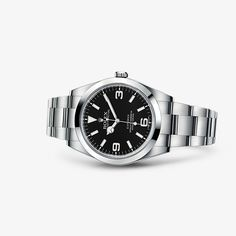 The Oyster Perpetual Explorer embodies the spirit of adventure and the perseverance that lies behind every exploit.